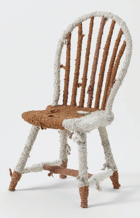 A chair by Llane Alexis at March CHAIR PHOTO BY BEN KIST